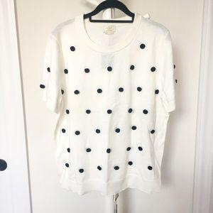 Kate Spade Pom Sweater XL